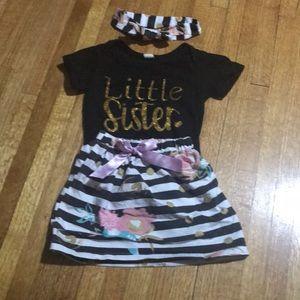Little Sister Boutique Dress Outfit